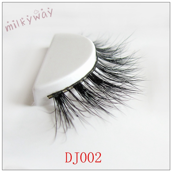 Milkyway 3D real mink fur lashes with customized package