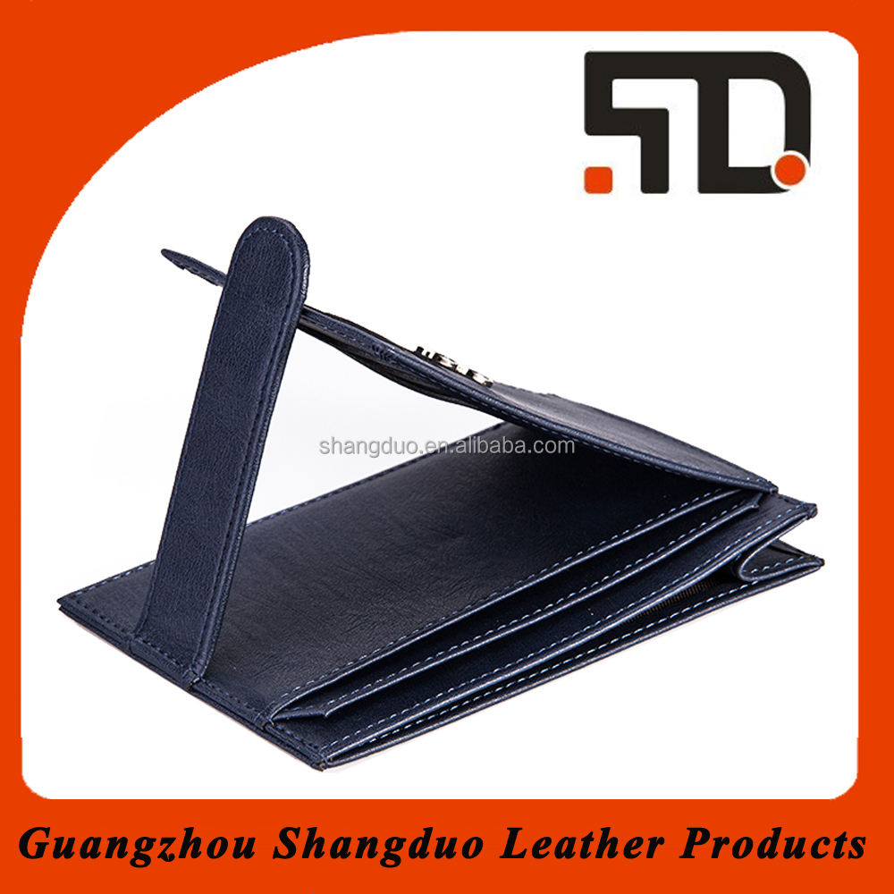 Leather Product Made in Chian Real or Fake Leather Card Holder For Dubai