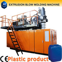HDPE bottle making machine for blue drum