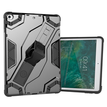 For iPad 2017 Case, Armor Standing Adjust Belt Clip Shockproof Protective Tablet Back Cover Case For New iPad 2017 9.7 inch