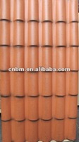 Antique color PVC resin roof tile