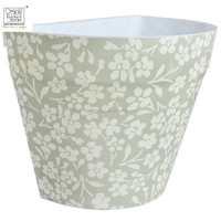 half printed flower pots for walls