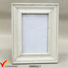 5x7 white Small French antique vintage wooden photo frame