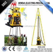 Brand New 230m Depth Geothermal Drill Rigs, Diamond Core Rig XDG-230, Water Well Drilling Rig Soil Rock