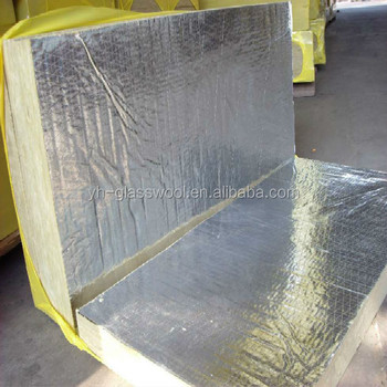 100kg m3 rock wool slab wall insulation with aluminium for Rock wall insulation
