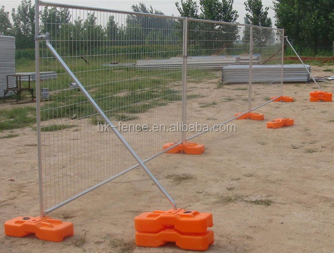 powder coated Australia standard welded wire mesh temporary fence panel
