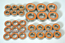 High Performance MCD RACING RACE RUNNER V4 steel bearing kits with different rubber seal color