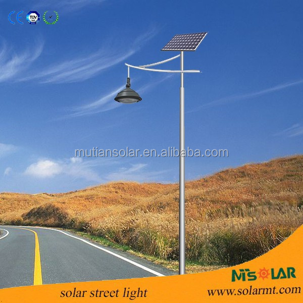 New products street led light, 8w 800-880lm 12v IP65 aluminum integrated led street light solar 18v-18w solar panel 3-4m pole