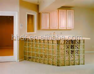 Stained /Transparent glass brick /block for floor ,bar ,bathroom decoration