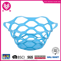 Plastic fruit vegetable basket washing basket draining basket BN7152 small
