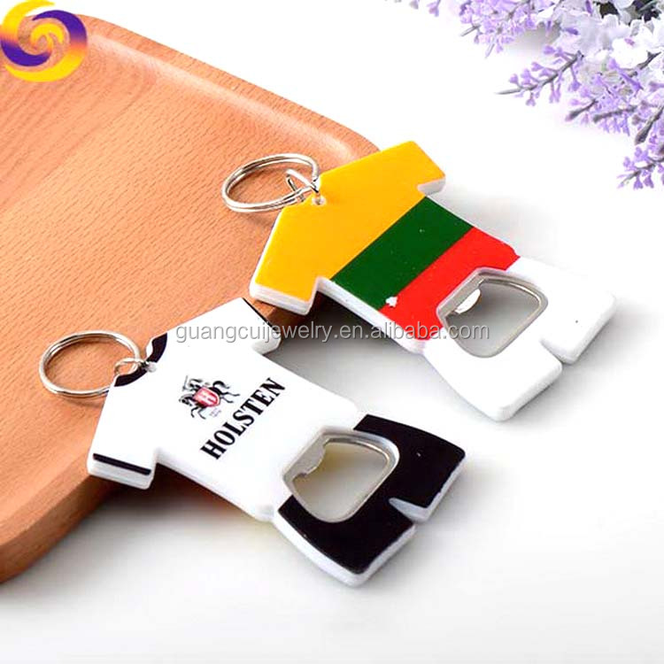 Lithuania tour souvenir ABS Jersey polo shirt keychain bottle opener