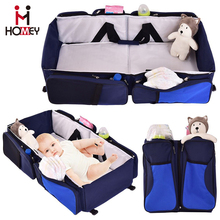 Lightweight Portable Folding Travel Bed for Baby Toddler Cot Bag