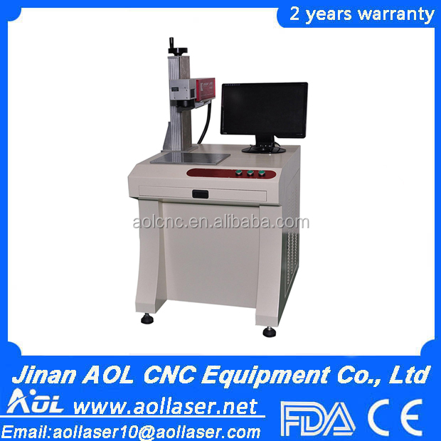 10W Mobile phone keypad Vertical Type Fiber laser marking machines,used laser marking machine for sale
