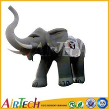 Modern inflatable cartoon elephant,inflatable model for sale