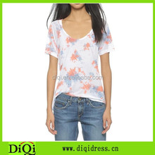 China alibaba women wear in Summer Korea style sweetheart white top t-shirt ladies' short sleeve shirt