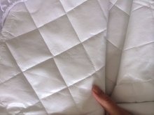 Hot melted glue economical bamboo charcoal mattress pad organic bamboo quilted mattress protector crib pad cover best selling