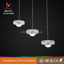 2017 hot selling modern style finger ring flashing led pendant light with great price