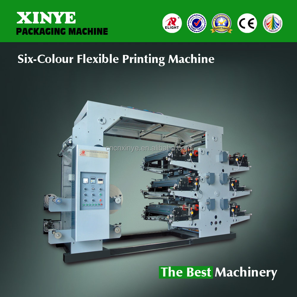 Flexible Printing Machine with Six -Color