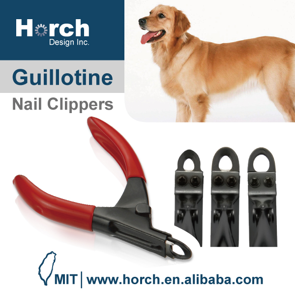 Nail art for animal and pet paw and nail cleaning clipper