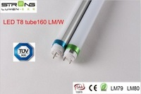 TUV CE Energy Saving Five Years Quality Guarantee 160lm/w 1500mm 30w t8 led tube 5ft 1.5m 3000k 4000k 6000k