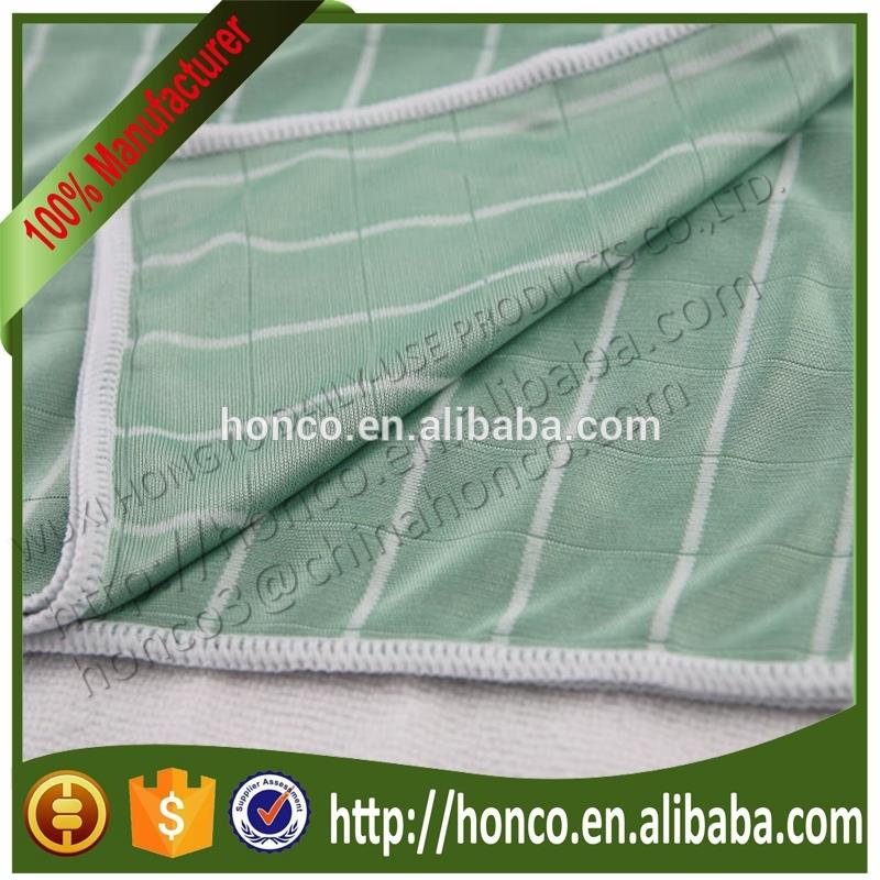 china supplier bamboo dish cloth made in China