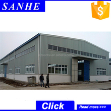 prefab small factory building