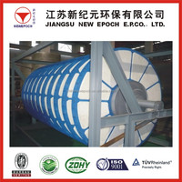 High vacuum degree solid-liquid separation vacuum rotary disc filter