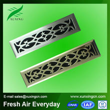 High quality decorative hvac air conditioning metal floor vents grilles