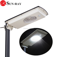 9w outdoor solar led street light solar street lighting with Intelligent sensor