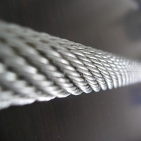 galvanized high abrasion resistance steel rope wire cable