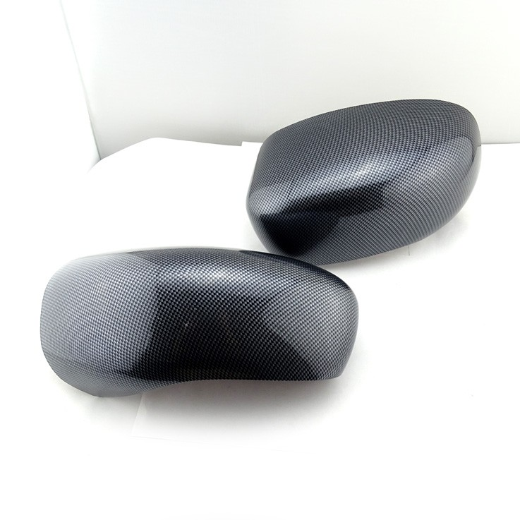 Custom carbon fiber car accessories car side mirror cover for Chrysler