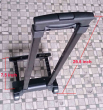Trolley telescopic luggage handle,Retractable luggage aluminum handle,Trolley bag accessories telescopic luggage handle