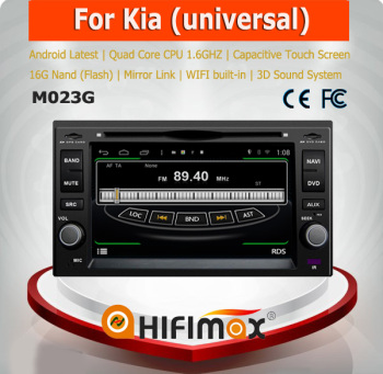 Hifimax S160 series for KIA Sorento(2002-2009) android car dvd 4.4.4 HD 1024*600 with 4 Core CPU with ISDB-T free shipping