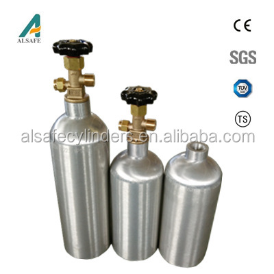 cryogenic gas used refillable aluminium alloy gas cylinder