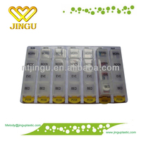 2014 high quality 1 month pill box
