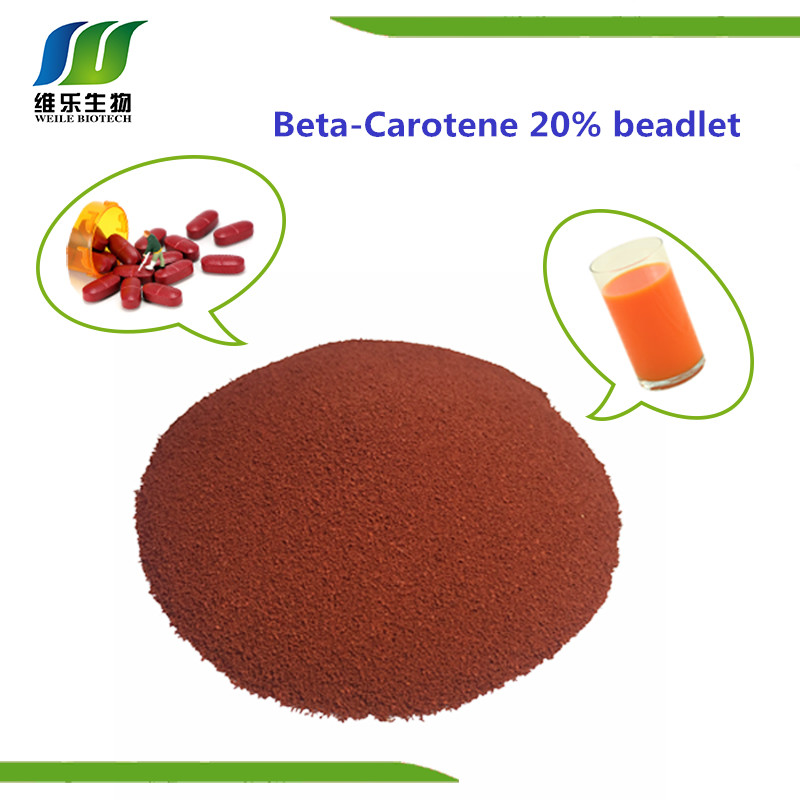 Special Offer for natural Beta Carotene 20% beadlet with best price
