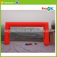 Outdoor cheap inflatable red wedding arches, inflatable Wedding Arch , inflatable wedding arch with print logo
