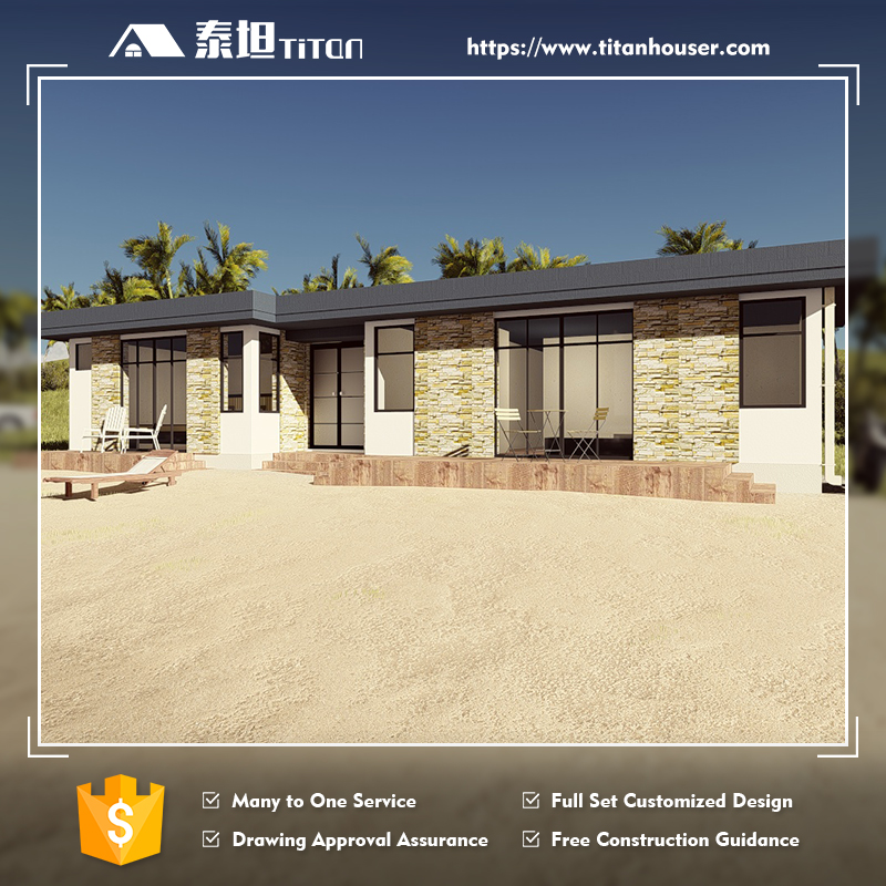 Titan Flat Pack Modular Beach House Home Plan for Sale