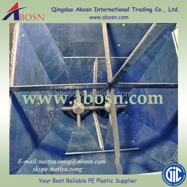 high performance polyethylene/virgin uhmw plastic liners