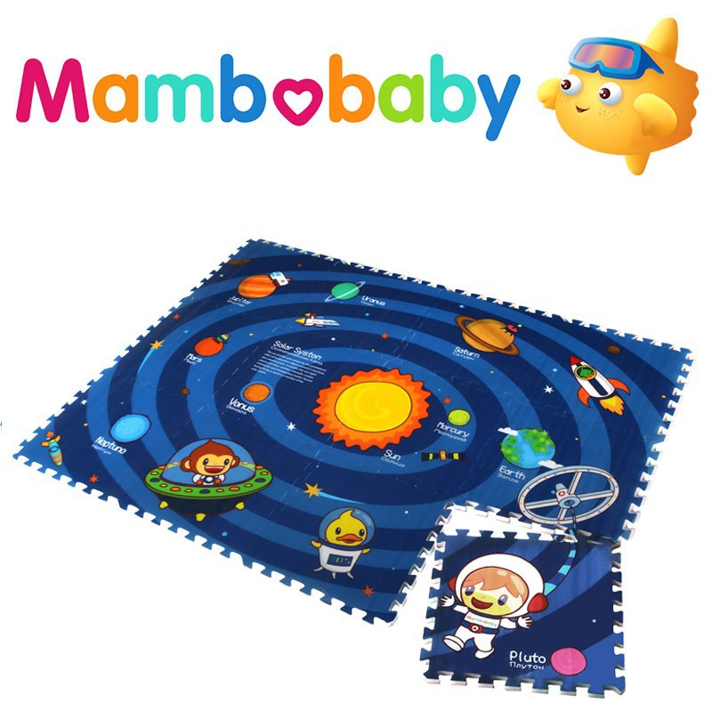 Cartoon EPE foam educational puzzle baby/kids puzzle play mat