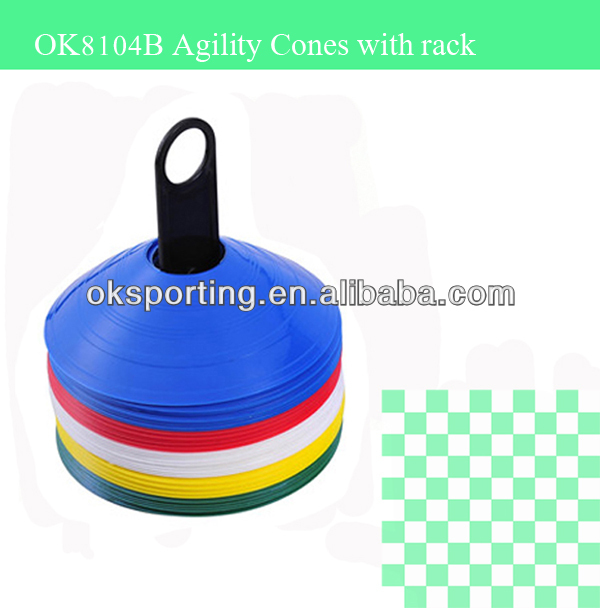 Outdoor Sports Soccer Football Speed Training Plastic Agility Cones