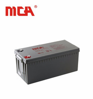 High quality bulk cheap lead acid dry gel battery 12v 220ah grid battery storage