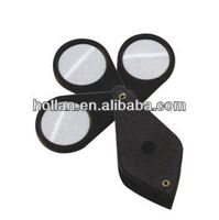 High Quality 3 Folding Loupes Magnifying Glass