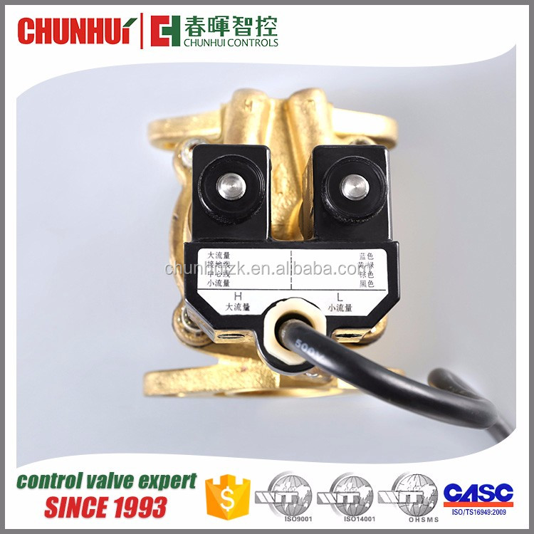Good quality solenoid brass Dual-flow 2/2 way solenoid valve