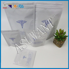 custom make back back front clear ziplock bag for cannabis packing for sales
