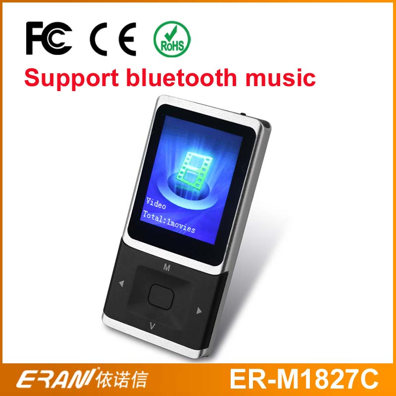 2016 new design bluetooth mp4 player hot music videos free download