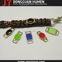 Jinyu Zinc Alloy Paracord Charms Metal