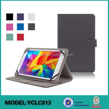 Good quality universal stand leather case for 7inch 8inch table PC