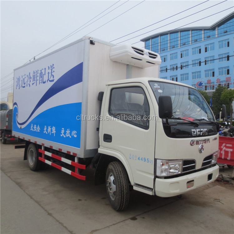 Top quality professional dongfeng refrigerated van