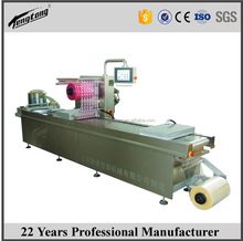 Industrial automatic food vacuum packaging machine, vacuum thermoforming packing machine